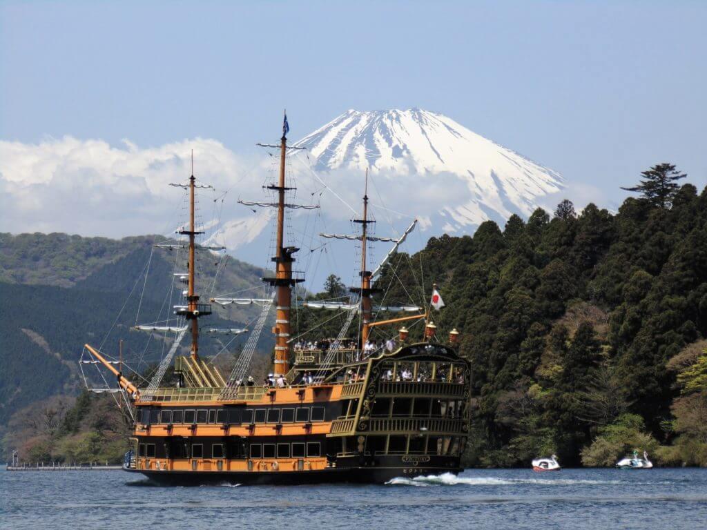 Hakone - Japan Reiseroute