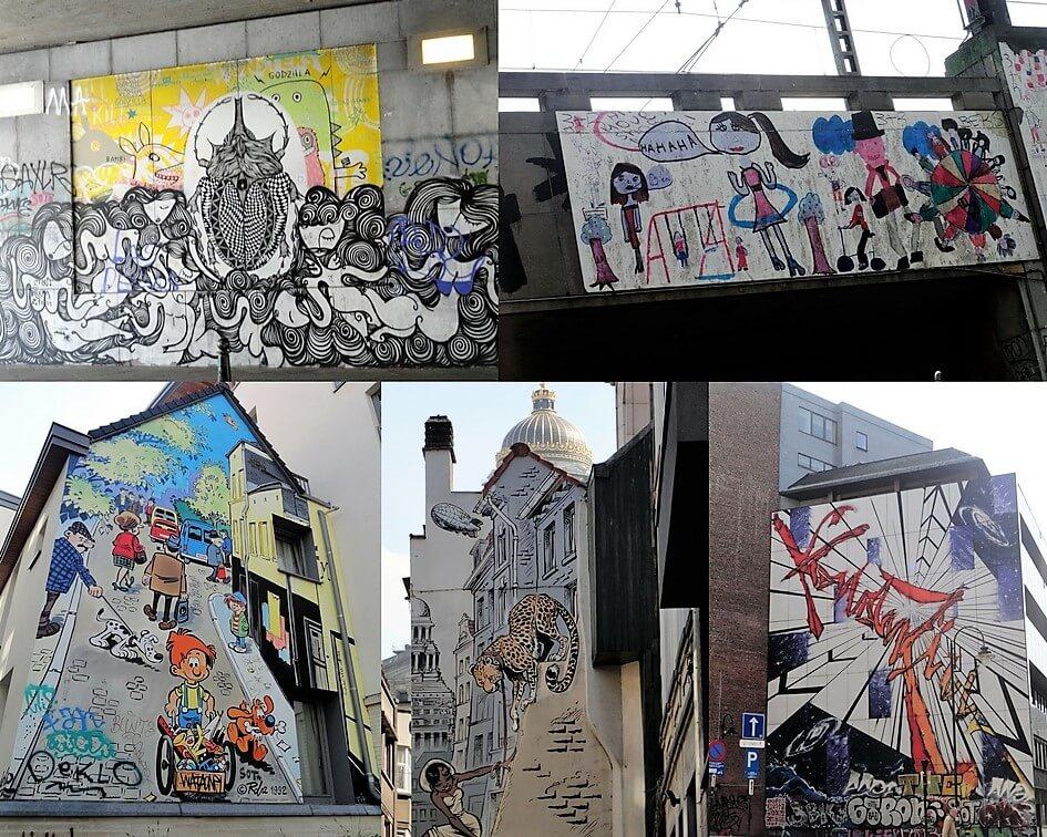 Street Art Brüssel