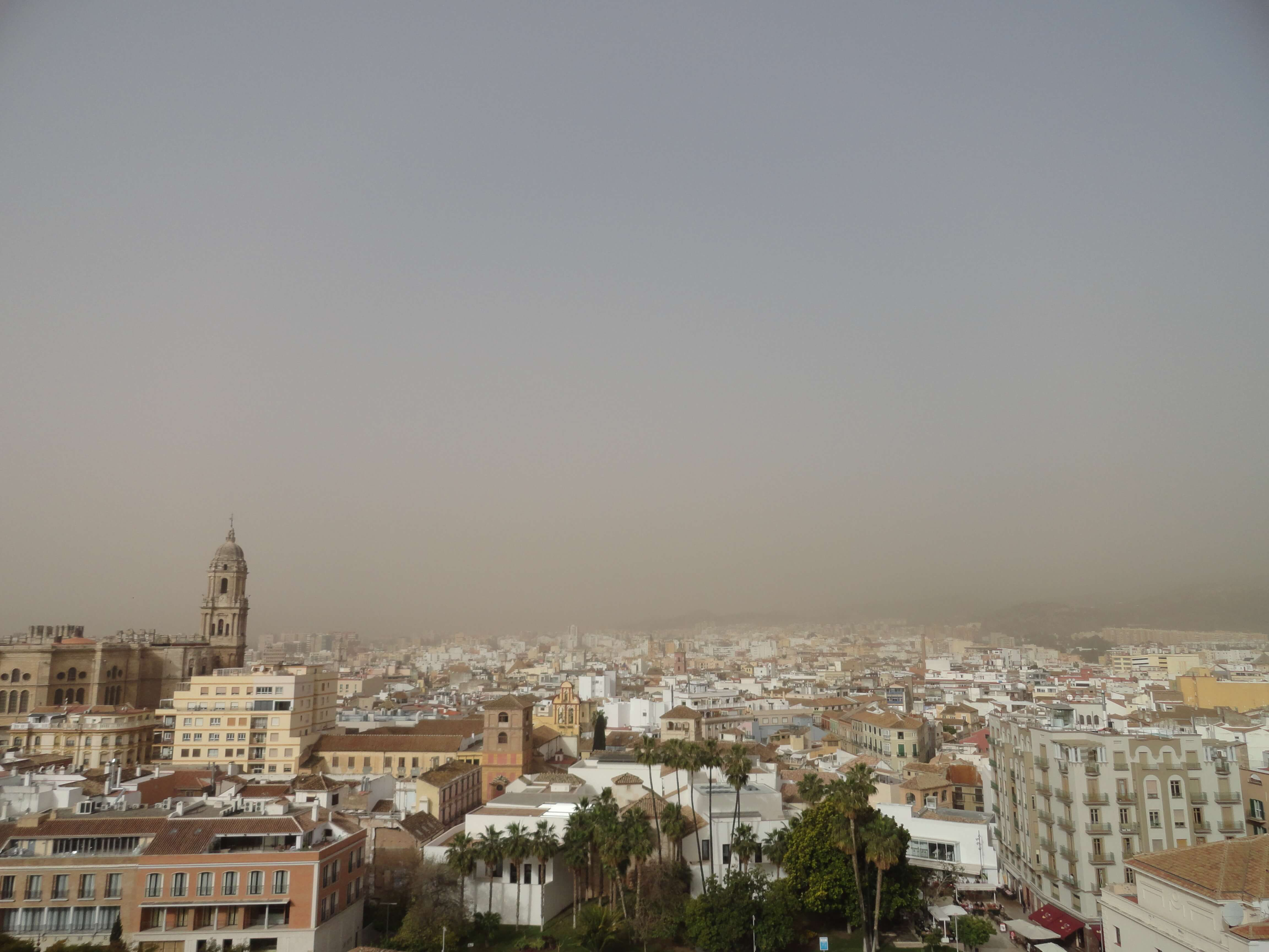 Malaga Tipp: Ausblick Malaga