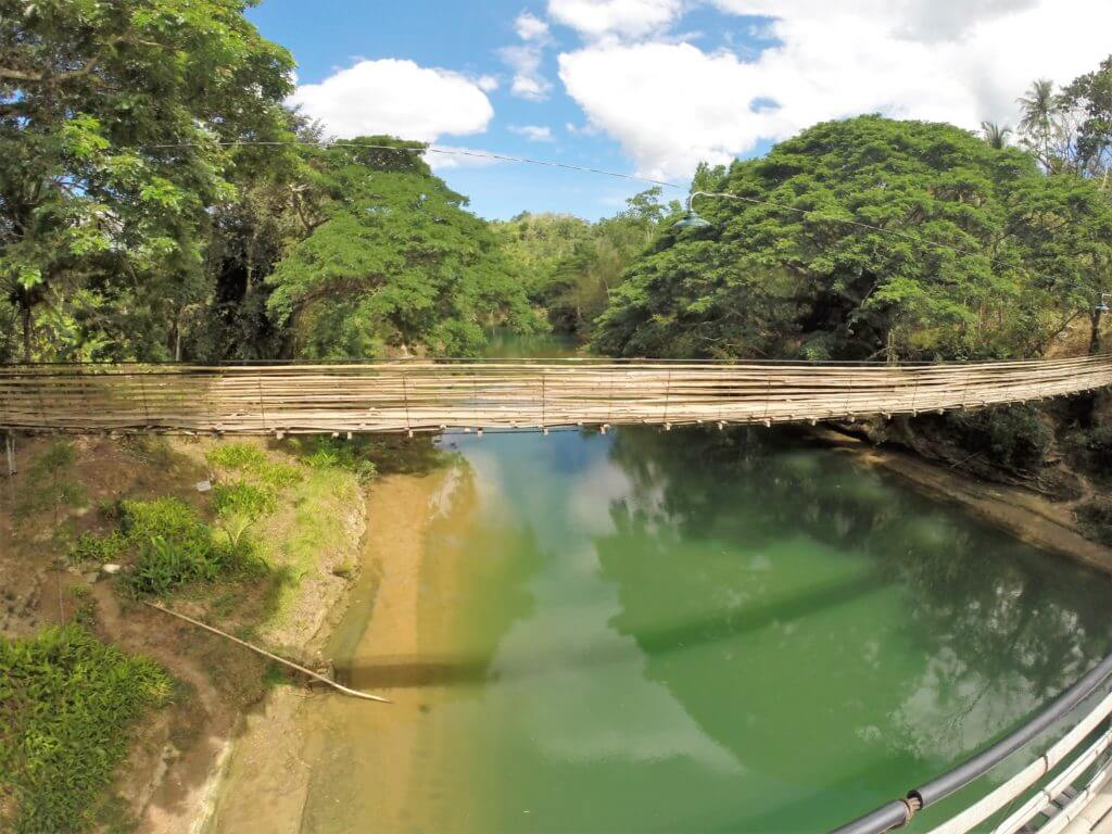 Bamboo Hängebrücke Bohol