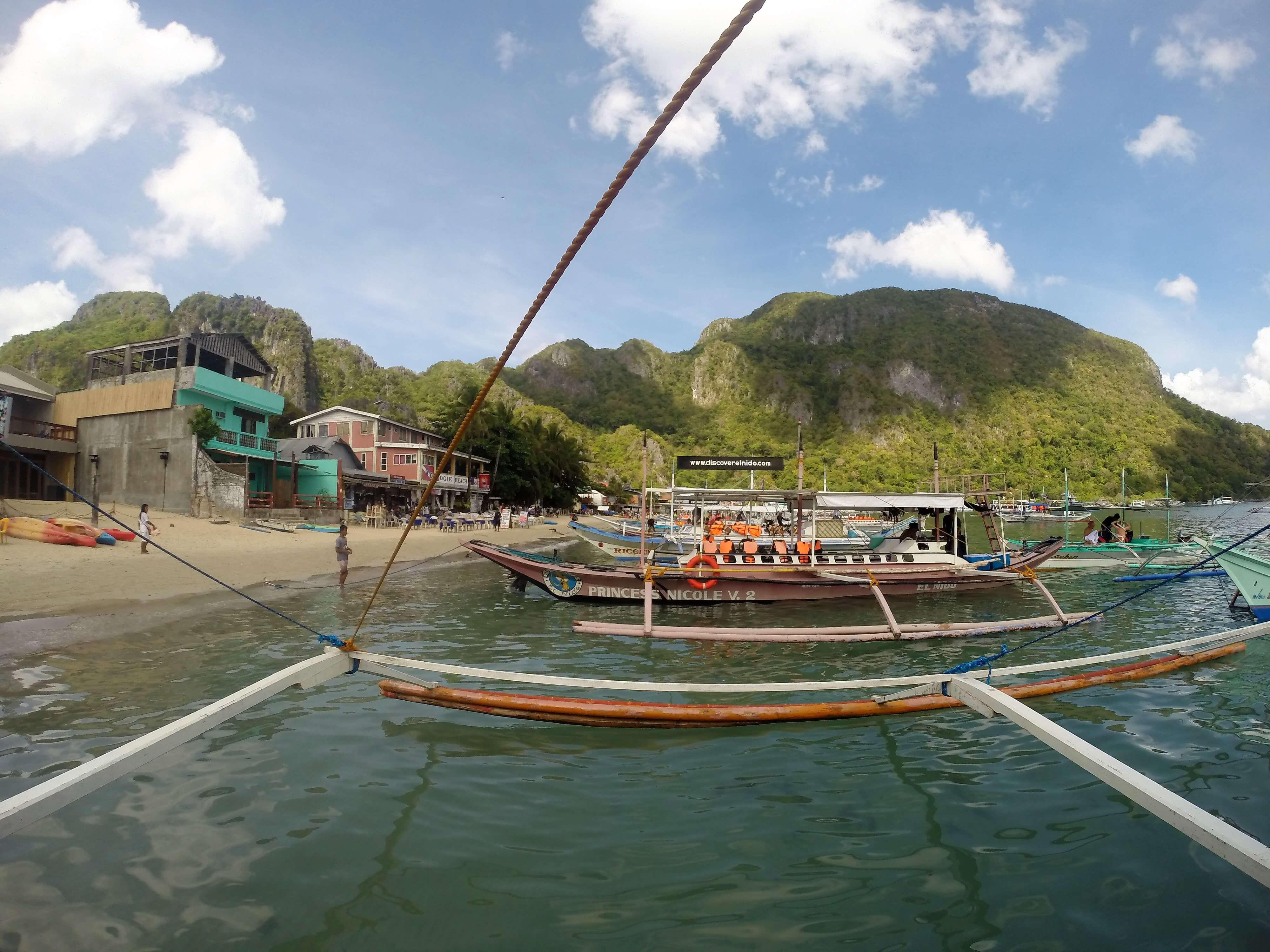 El Nido Philippinen Reiseroute