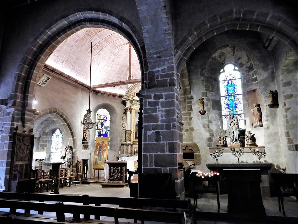 St Peters Kirche Mont Saint Michel