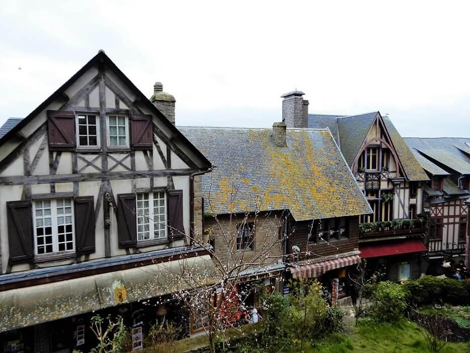 Häuser auf Mont Saint Michel