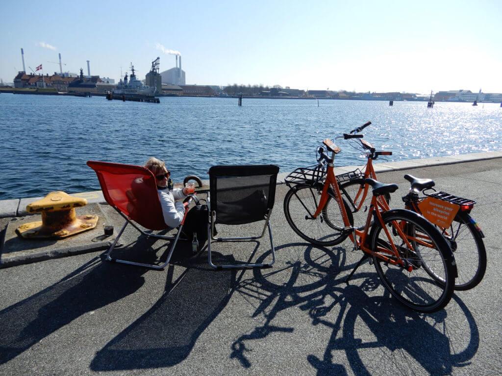Kopenhagen Tipps - Draußen sitzen