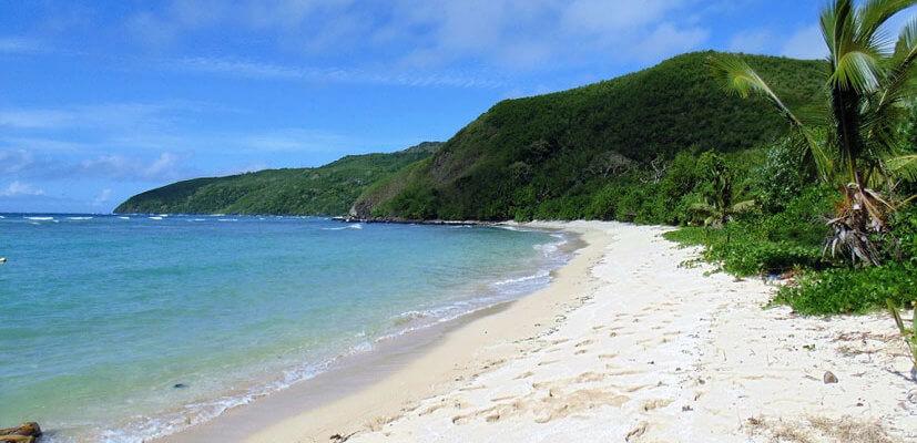 Honeymoon Beach Fidschi Inseln