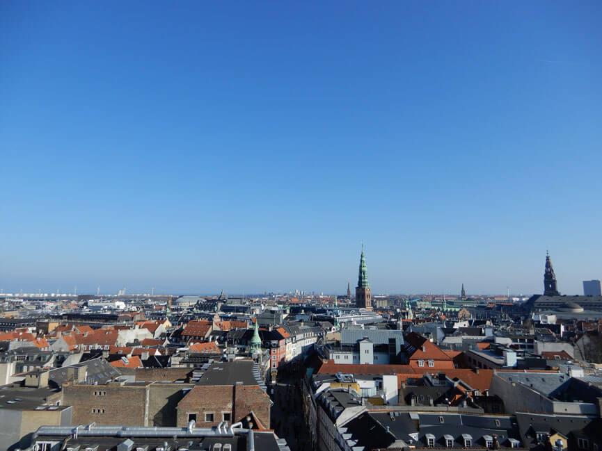 Kopenhagen vom Rundem Turm