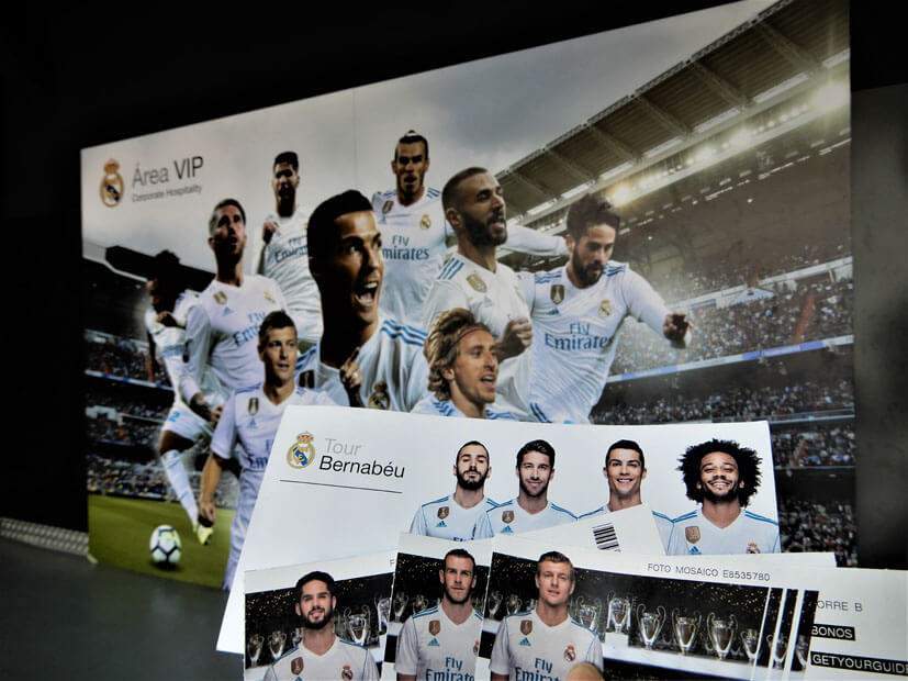 Ticket Real Madrid