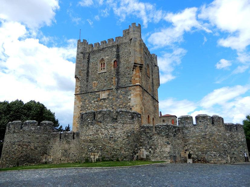 Burg von braganca - Rundreise Portugal