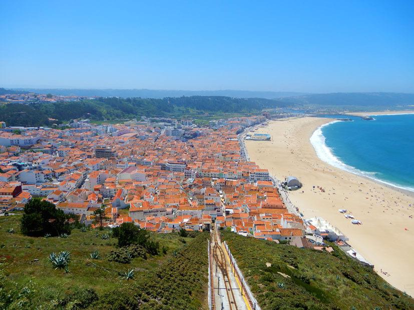 Nazaré - 3 Wochen Portugal