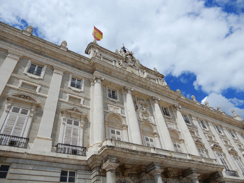 sehenswürdigkeiten Madrid - Königspalast Madrid