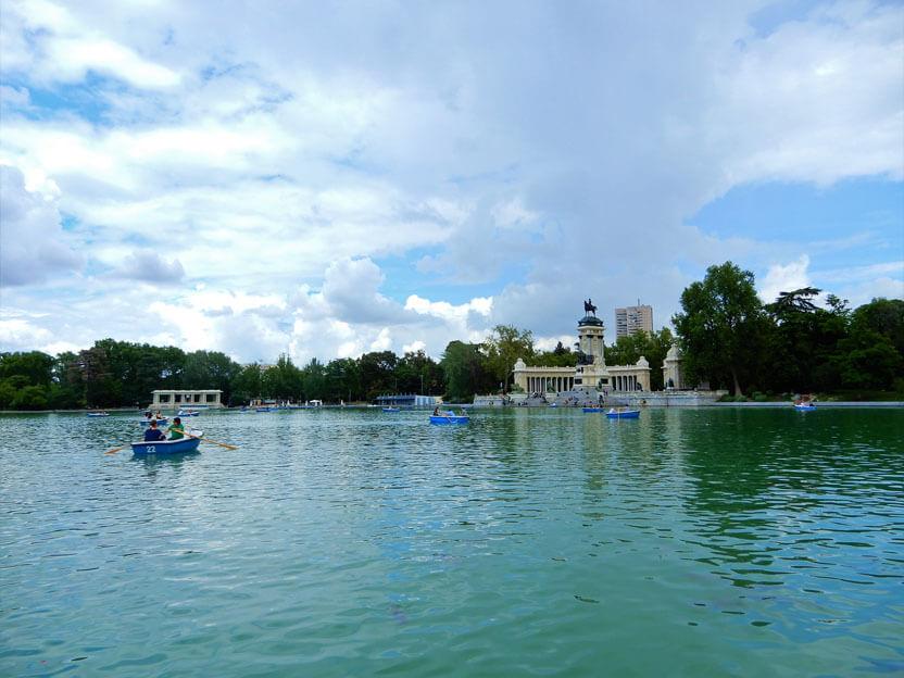 Sehenswürdigkeiten Madrid - Parque de El Retiro – Retiro Park