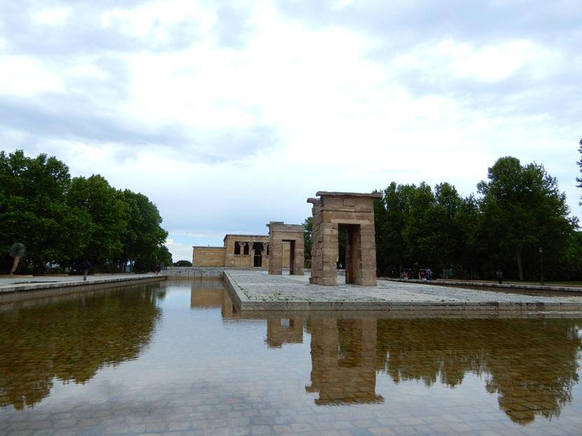 Sehenswürdigkeiten Madrid -Tempel von Debod