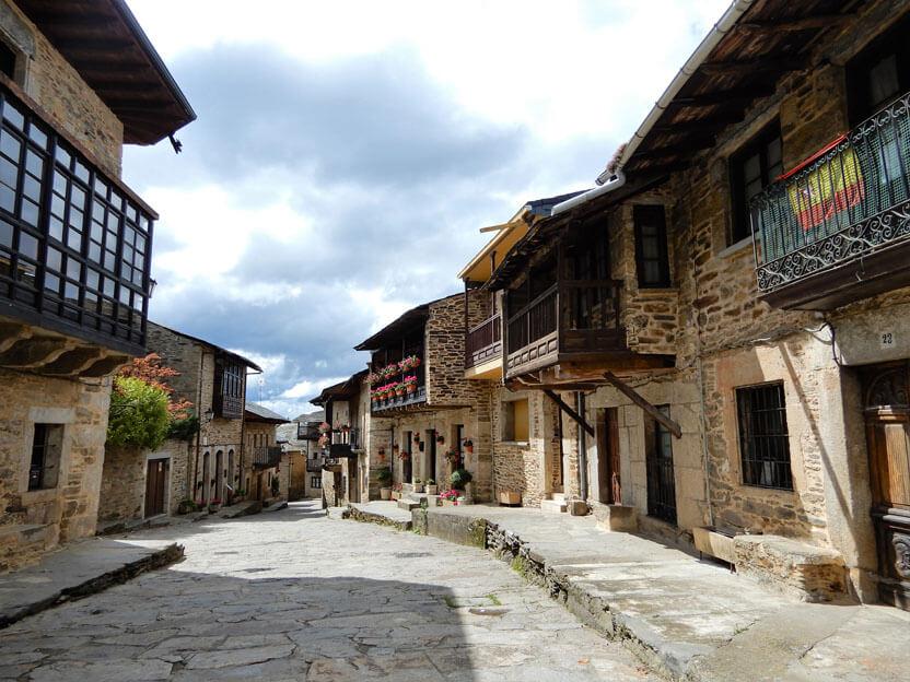 Häuser in La Puebla de Sanabria