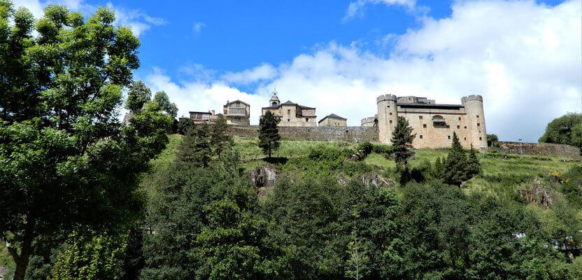 Burg La Puebla de Sanabria