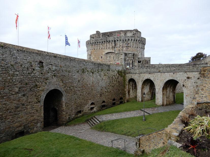 Schloss in Dinan