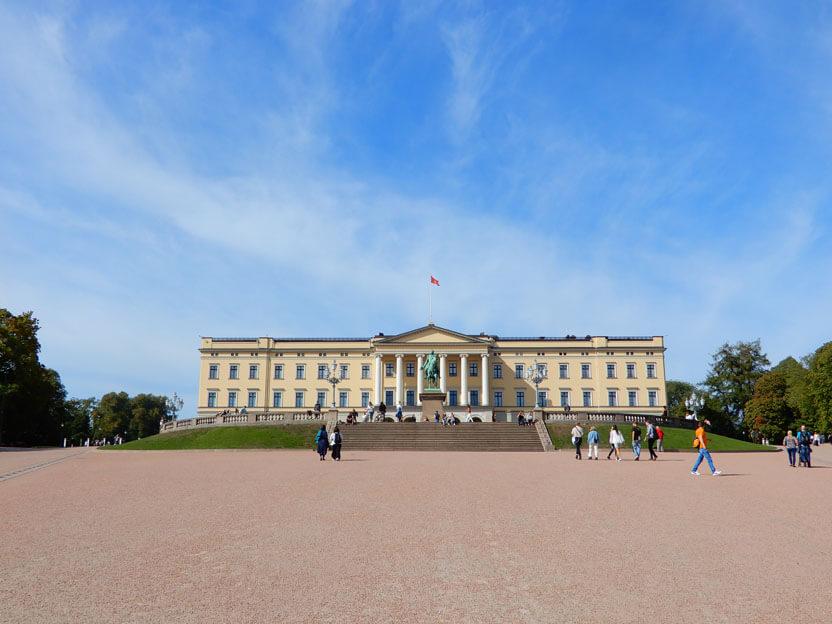 Oslo Sehenswürdigkeiten - Königliches Schloss