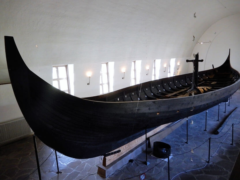 Oslo Sehenswürdigkeiten - Wikingerschiffmuseum