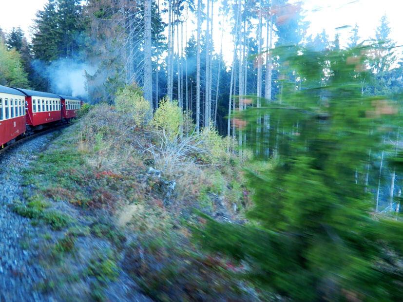 Brockenbahn im Einsatz
