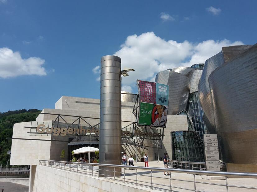Guggenheim Museum Biblao Sehenswürdigkeiten