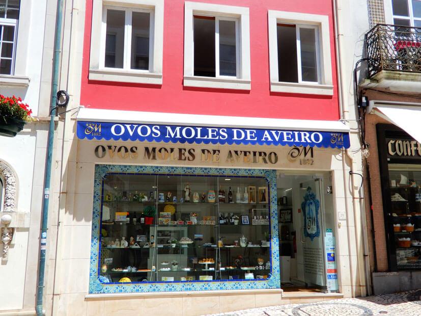 Eine Speziaßlität aus Aveiro: Ovos Moles