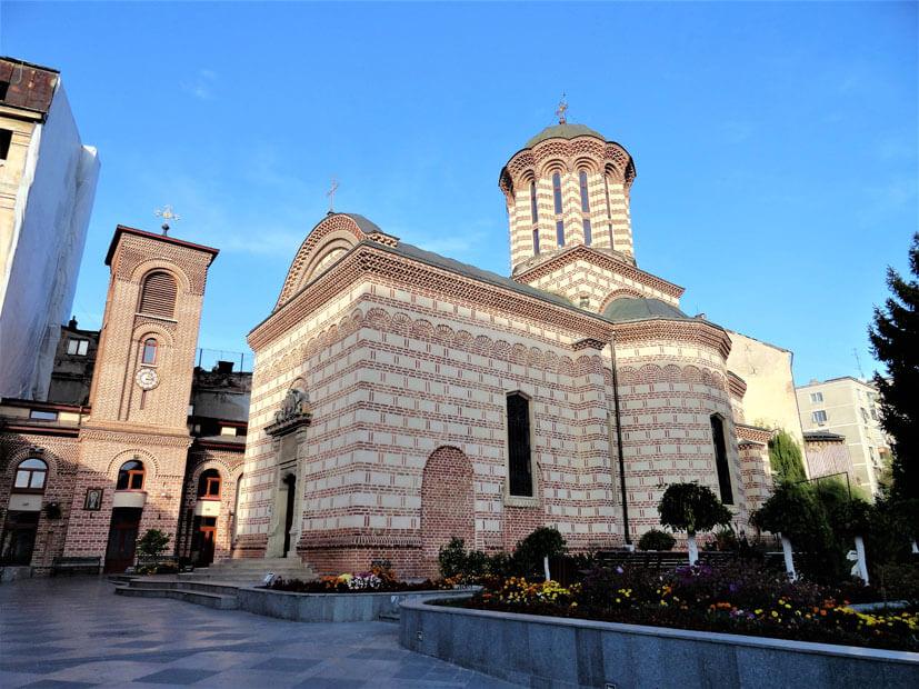 Bukarest Sehenswürdigkeiten - Hofkirche