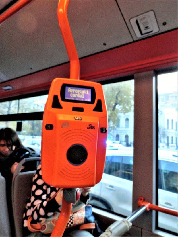 Bus Fahrschein Scanner