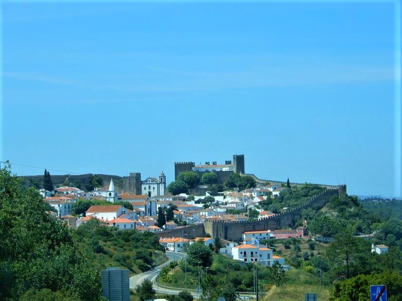 Obidos Stadt und Burg
