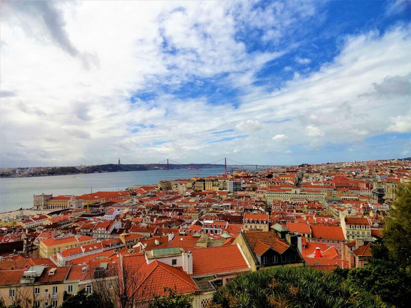 Aussicht - Lissabon Sehenswürdigkeiten
