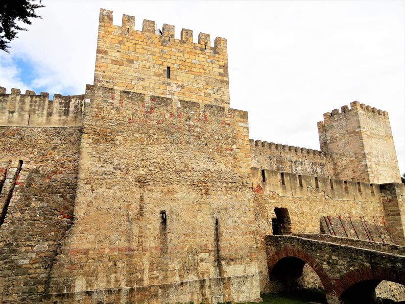 Castelo de Sao Jorge - Lissabon Sehenswürdigkeiten