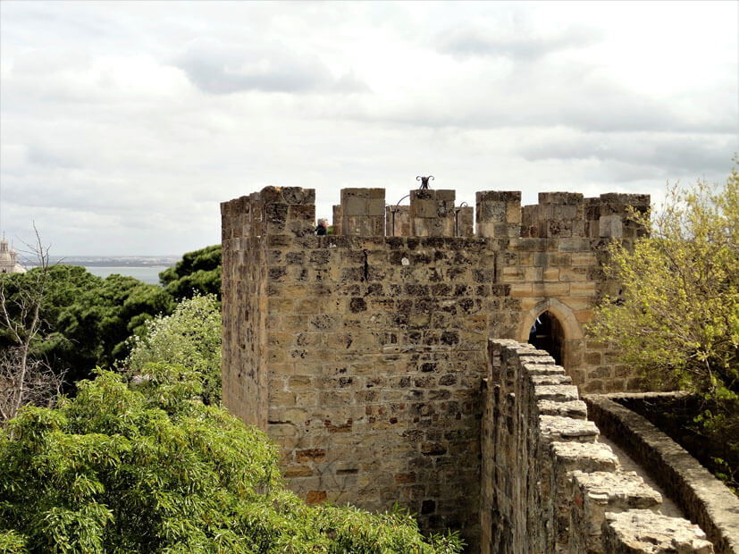 Castelo de Sao Jorge - 3 Tage Lissabon