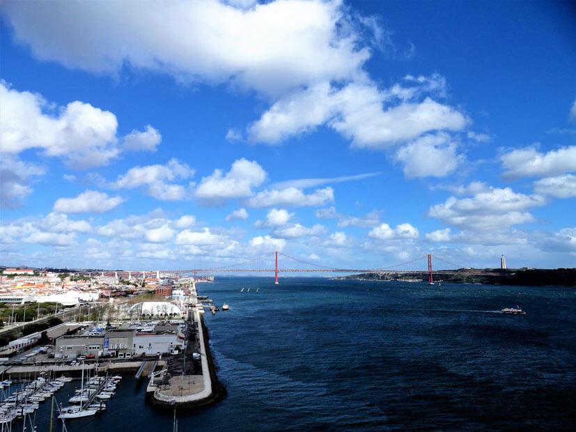 Aussicht zur Brücke