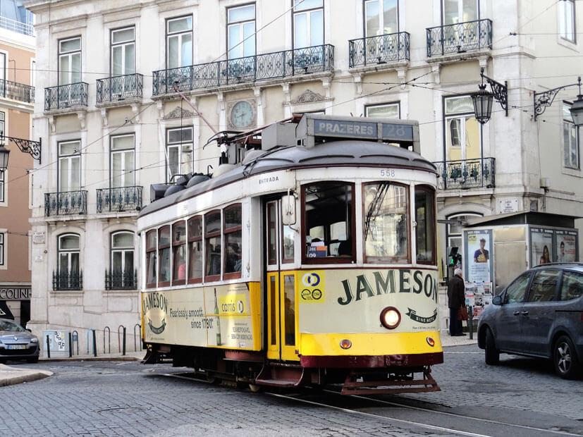 Tram - Lissabon Sehenswürdigkeiten
