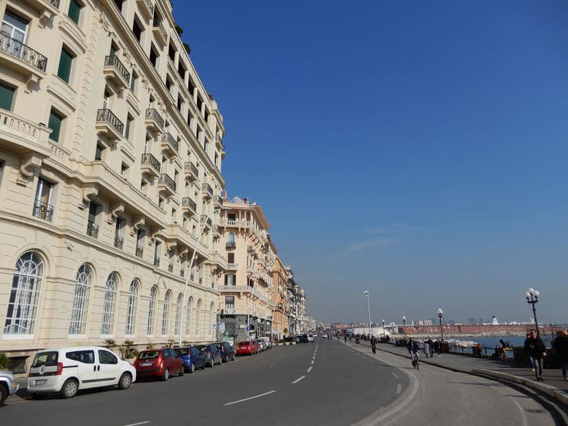 Küste Neapel