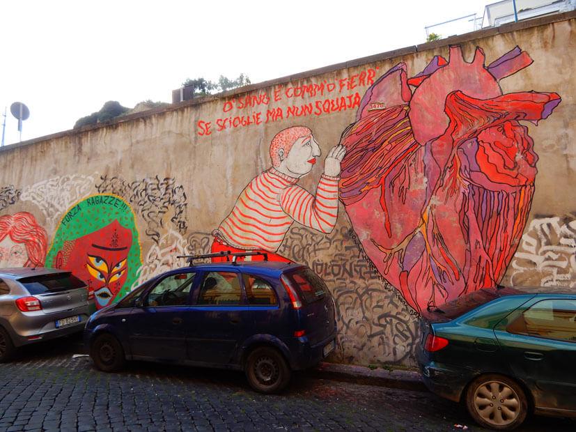 Streetart in neapel