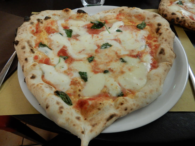 Pizza Margharita Neapel