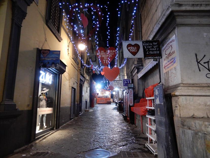 Straße in Neapel