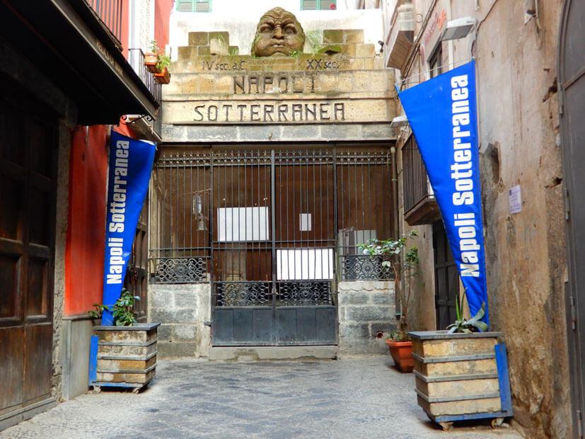 Napoli Sotterranea - Neapel Sehenswürdigkeiten