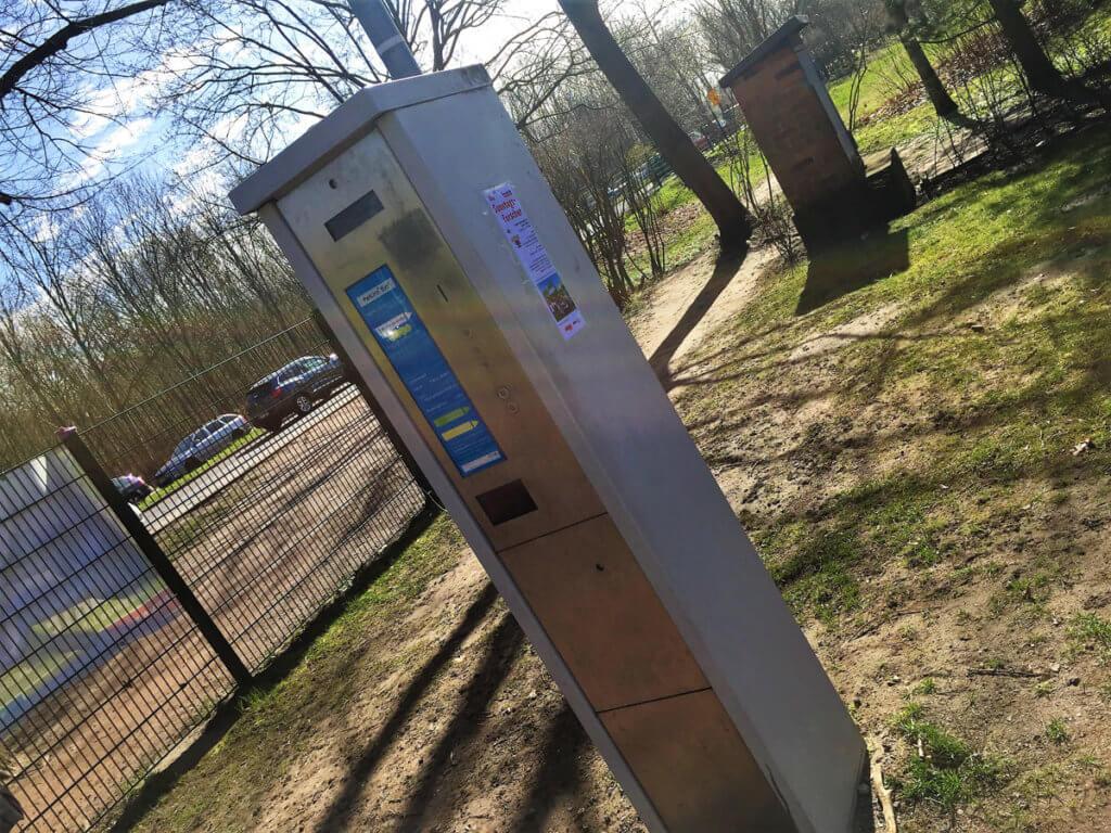 Automat im Botanischen Volkspark
