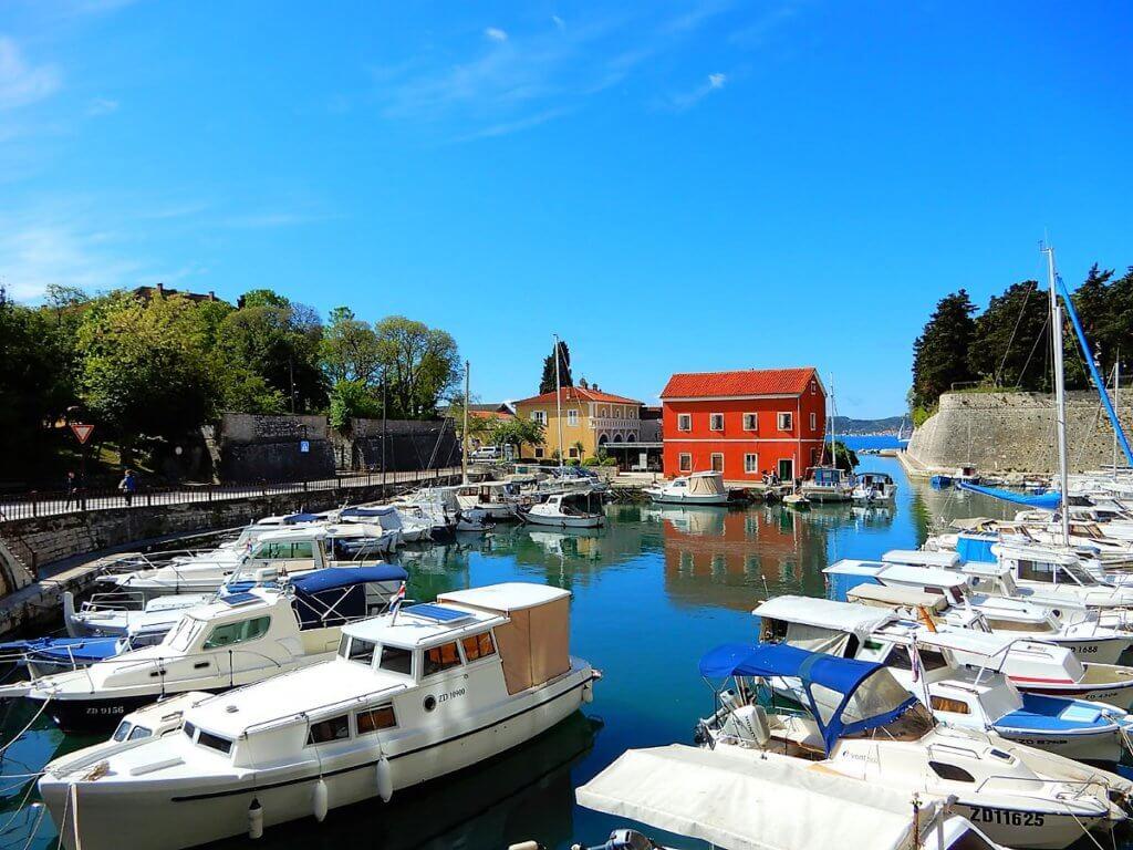 Zadar Hafen