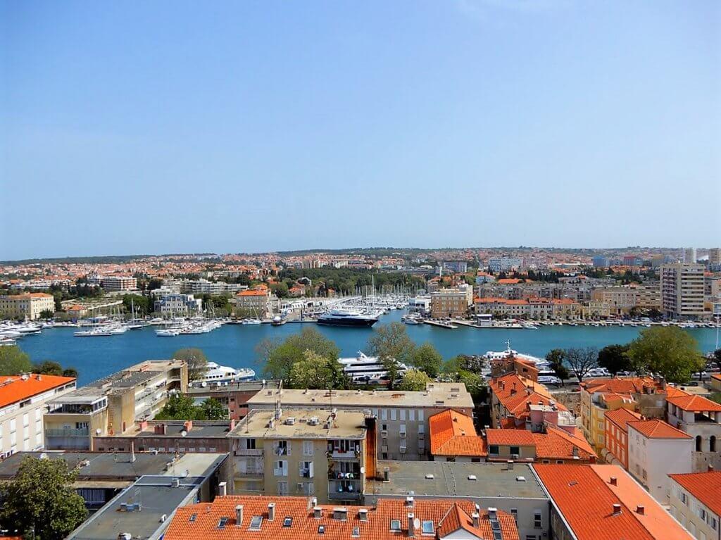 Blick über Zadar