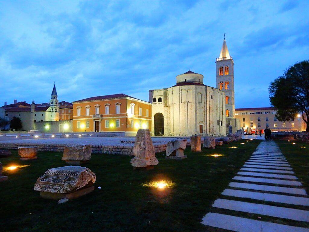 Roman Forum bei Nacht