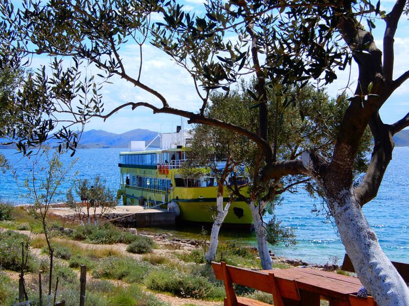 Boot Leut Insel Lavsara- Nationalpark Kornati