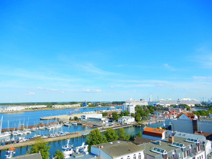 Warnemünde Sehenswürdigkeiten - Hafen