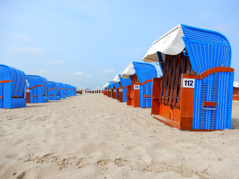 Strandkörb Warnemünde