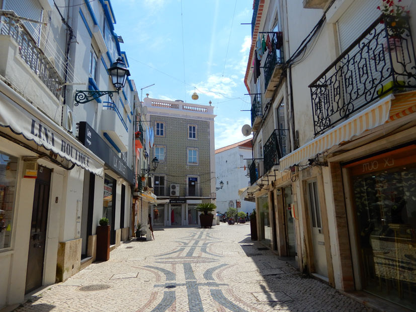 Gasse in Setúbal