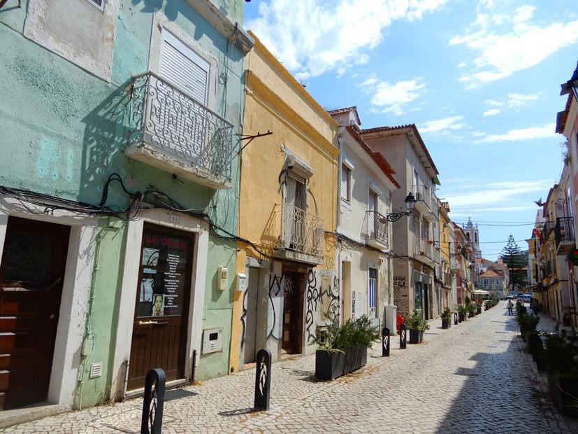 Bairro Troino – das Fischerviertel