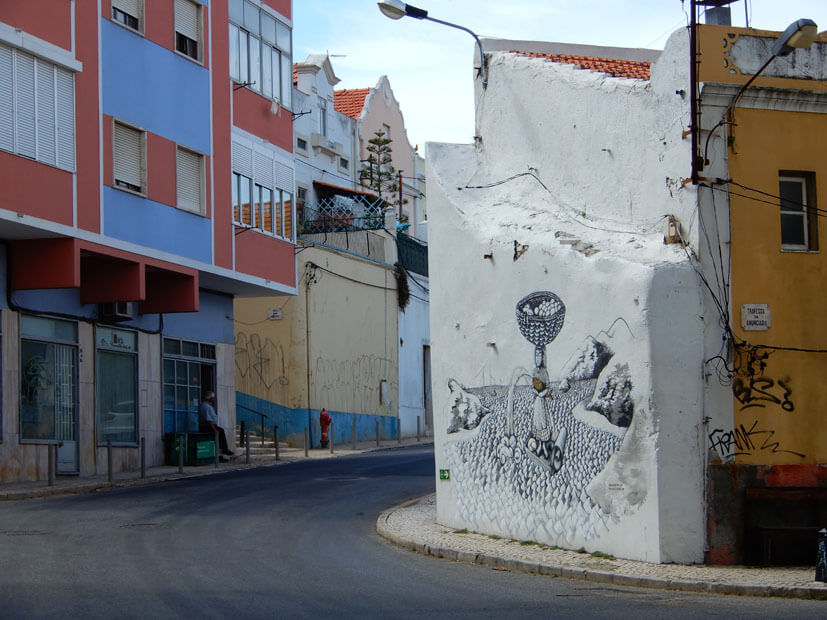 Streetart in Setúbal
