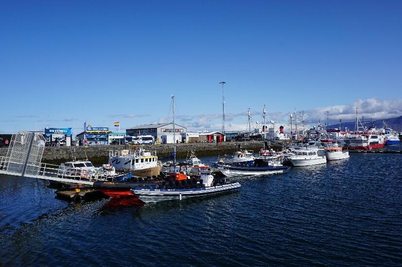 alter Hafen - Reykjavik Sehenswürdigkeiten