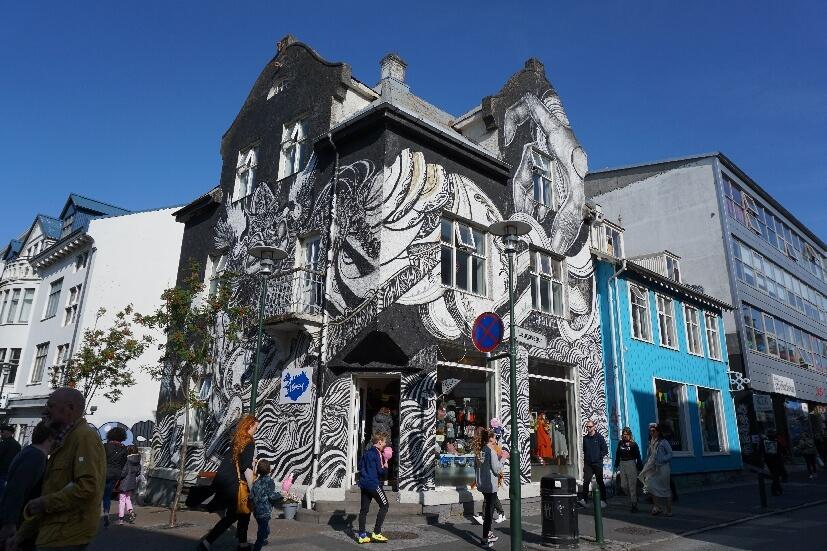 Streetart Reykjavik