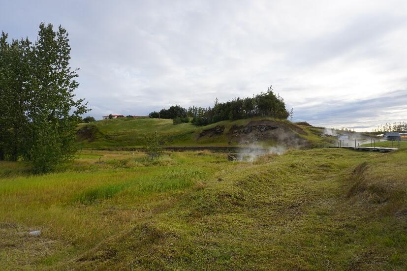 Umgebung geheime Lagune